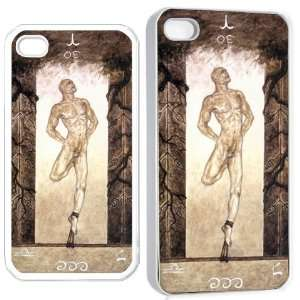 p the hanged man iPhone Hard 4s Case White Cell Phones