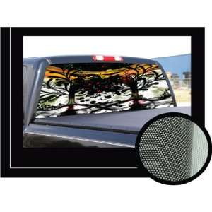 FACES OF DEATH 22 x 65   Rear Window Graphic   back truck decal suv