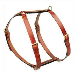 La Cinopelca R75   X Classic Leather Dog Harness Size