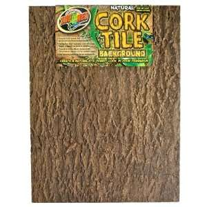 Zoo Med Natural Cork Tile Background, 18 x 24 Inch Pet