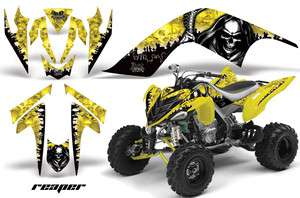 AMR RACING GRAPHIC WRAP OFF ROAD DECAL STICKER KIT YAMAHA RAPTOR 700
