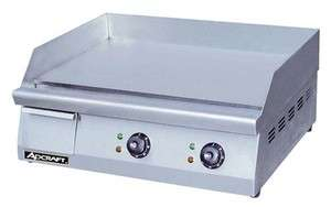 Adcraft 24 Electric Griddle Model Grid 24 208/240 volt