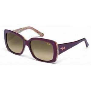 Maui Jim Sunglasses Lani / Frame Ruby with Sandstaone Lens HCL
