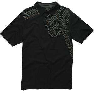 Fox Racing Theno Polo   Medium/Black Automotive