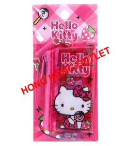 Hello Kitty Cell Phone Strap bag Case for SD Card/Coins/USB/Key chain
