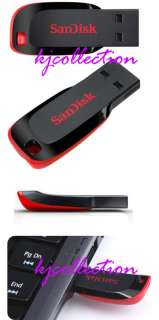 on the small and very portable SanDisk Cruzer Blade USB flash drive
