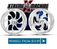 Custom Motorcycle Wheels, Harley Chrome Wheels items in Coastal Moto