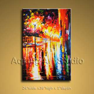 Textured Contemporary Fine Art Modern Palette Knife Oil Painting