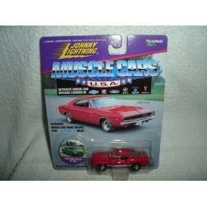 Muscle Cars USA 1968 Ford Mustang Shelby GT 500 (red) Toys & Games