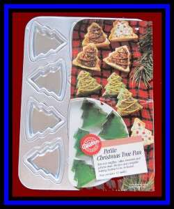 Wilton ***PETITE CHRISTMAS TREE*** Cake Pan EUC