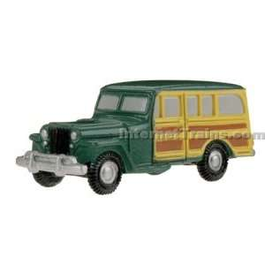 HO Scale EconoCars 1940s Wood Side Station Wagon/Truck Toys & Games